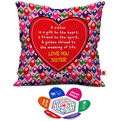 Buy Indigifts Rakshabandhan Gifts For Sister Sis A Gift To Heart