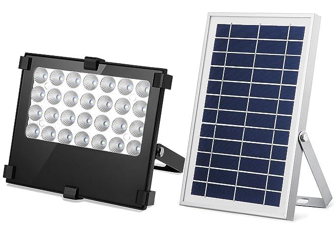 Solar Flood Light Solar Lights Outdoor Weatherproof Solar Outdoor Lights  Auto ON/OFF Solar Flood