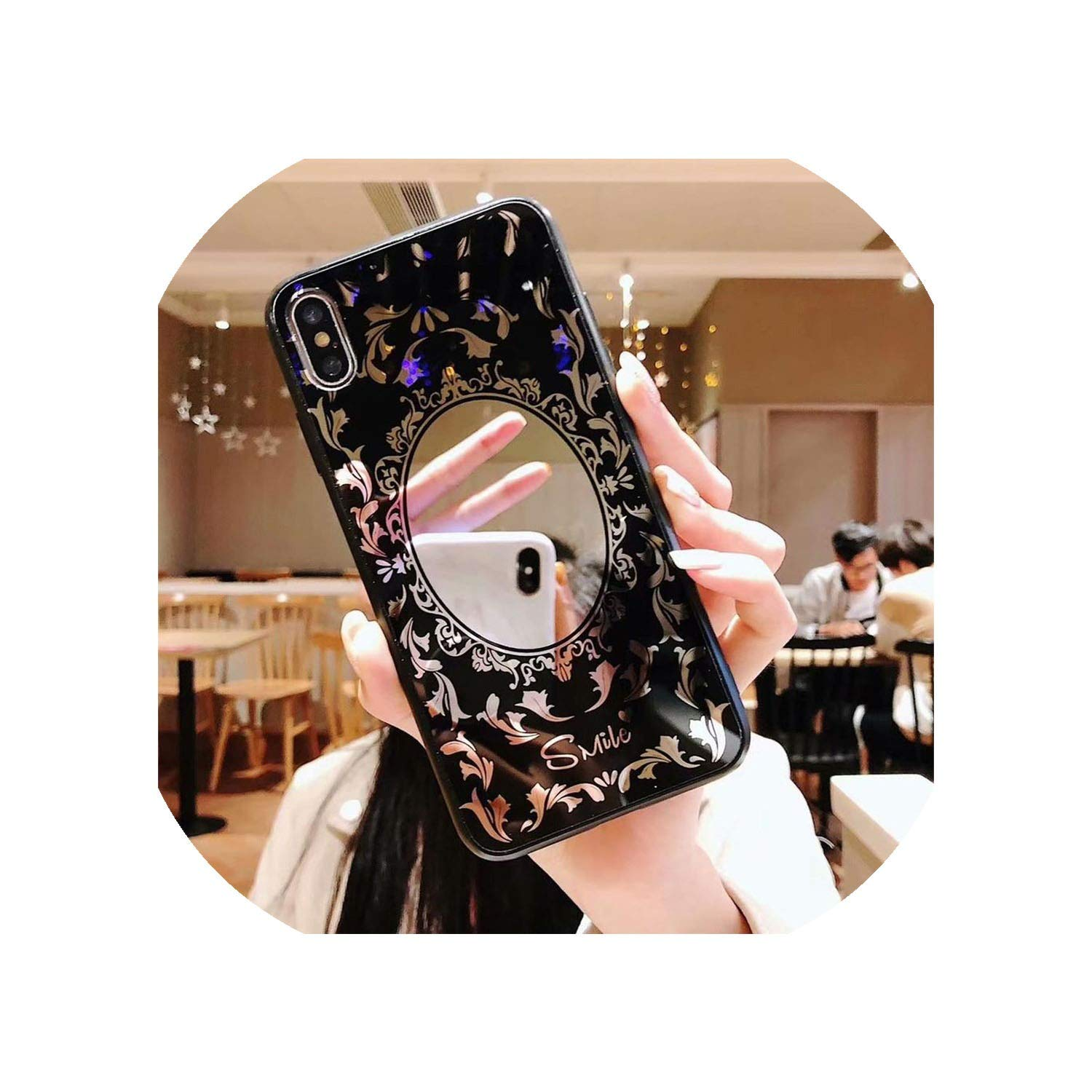 Luxury Plating Leopard Mirror Phone Case for Huawei Honor 7X V10 10 9 lite V9 Case Silicon for Huawei P20 Lite Mate 20 Pro Cover-in Half,for Honor 9,04