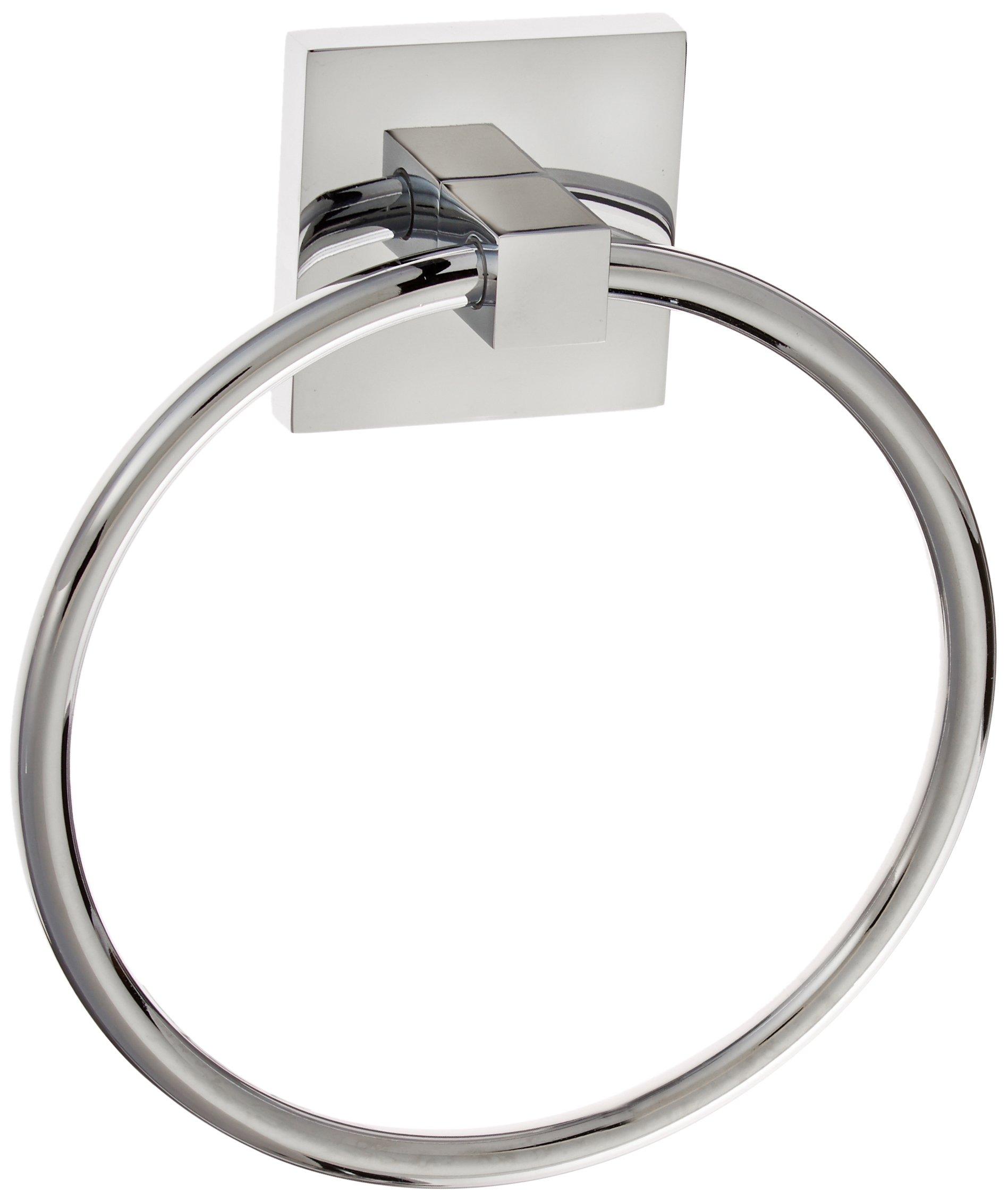 Graff G-9106-PC Contemporary Towel Ring, Polished Chrome