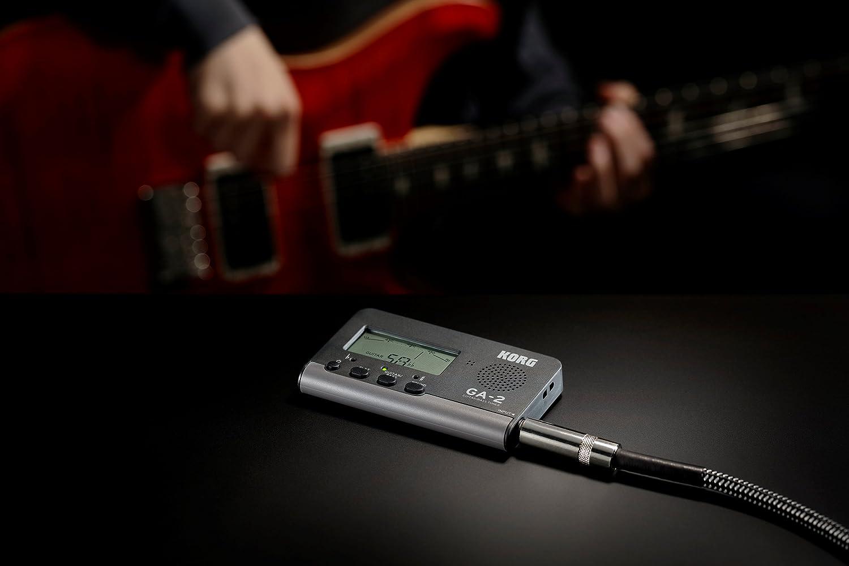 Korg GA-2 sintonizador Digital para Guitarra y Bass: Amazon.es: Instrumentos musicales