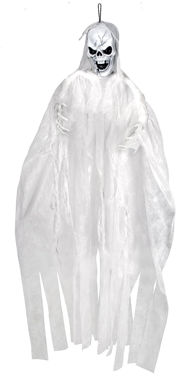 Boland Decorazione Scheletro Fantasma Skull Bride, Bianco, 72117