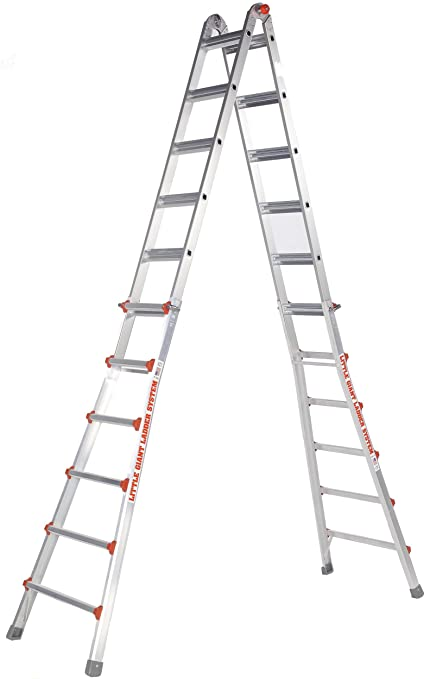 Amazon.com: Little Giant 10126LG 300-Pound Duty Rating Ladder System ...