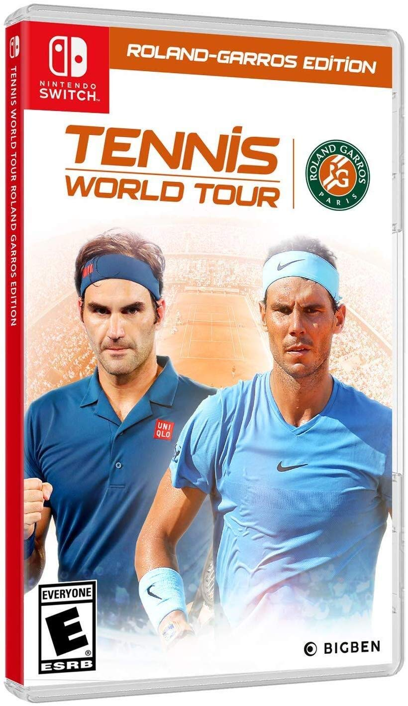 Tennis World Tour Roland-Garros Edition for Nintendo Switch USA ...