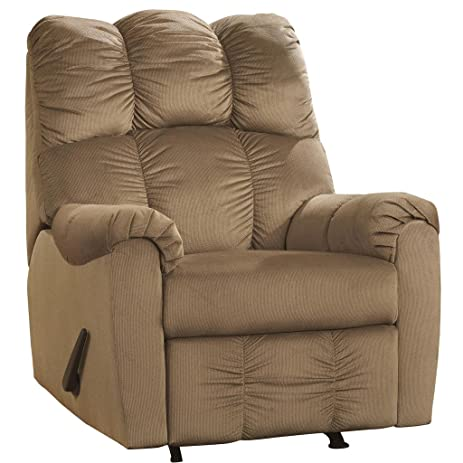 Ashley Furniture Signature Design - Raulo Recliner - Manual Reclining Chair - Mocha Brown  sc 1 st  Amazon.com & Amazon.com: Ashley Furniture Signature Design - Raulo Recliner ... islam-shia.org