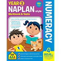 NAPLAN*-style Year 3 Numeracy Workbook and Tests (new cover)