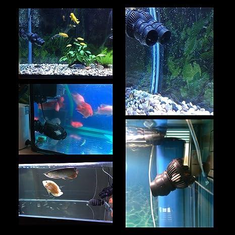 Acuario Bomba De Circulación De La Bomba De Agua WaveMaker con imán 2500L/H: Amazon.es: Jardín