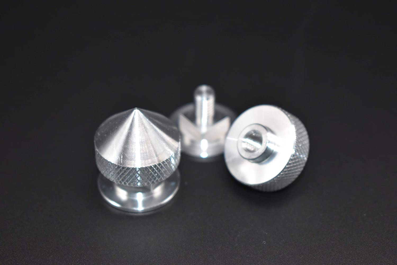 Aluminum Replacement Welding Helmet Fastener Set Pipeliner, Tigerhood Conical