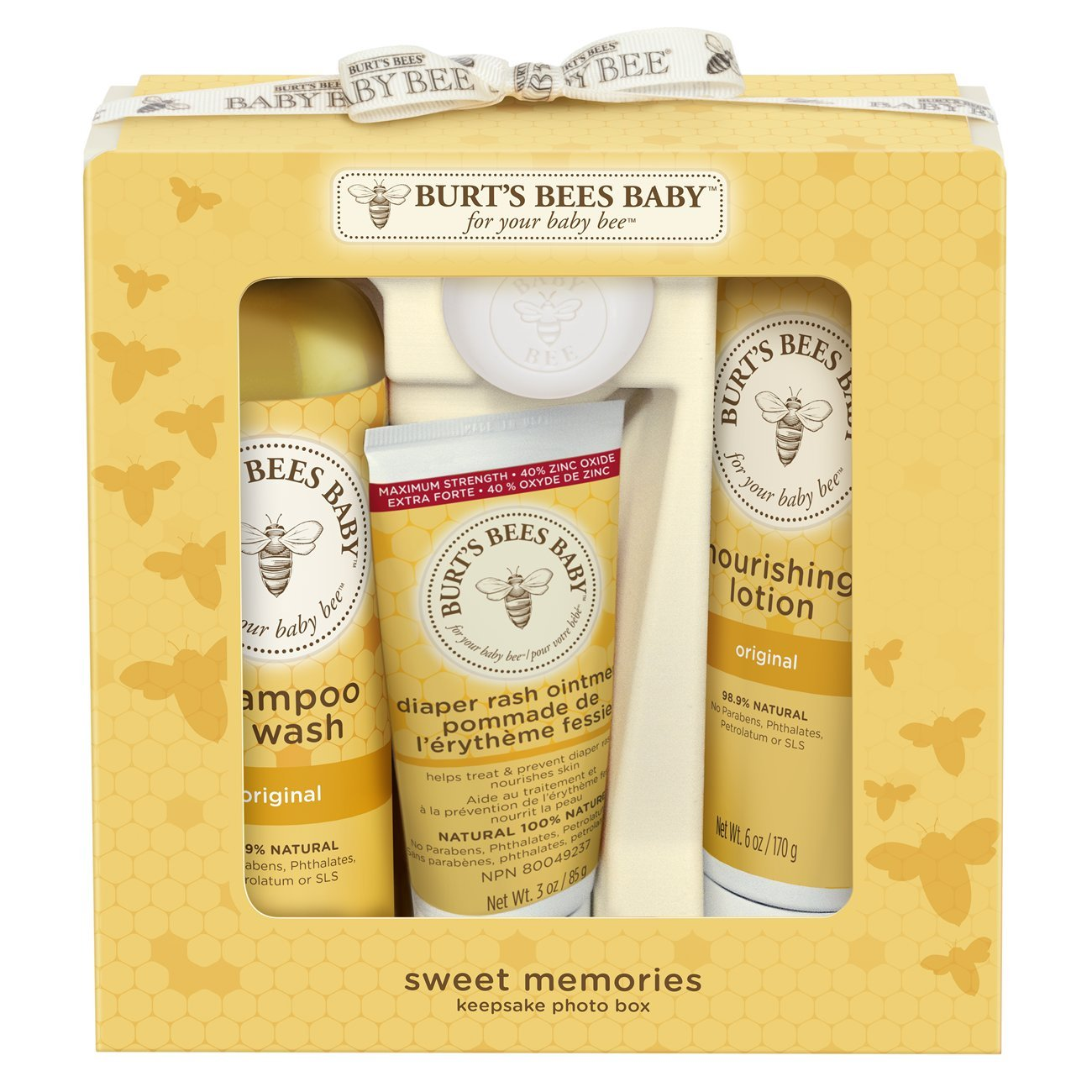 Burt's Bees Baby Sweet Memories Keepsake Photo Box Burt' s Bees Inc. 01768-20