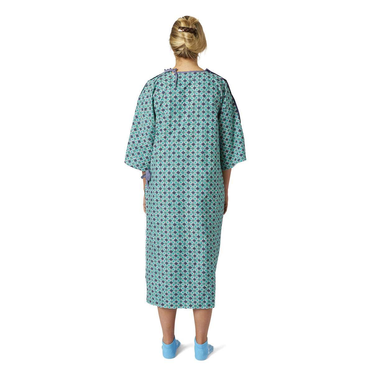 Demure impresión bata de hospital – Pack de 4: Amazon.es: Amazon.es