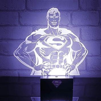 Paladone - Comics Superman Proyector Silueta: Amazon.es: Juguetes ...