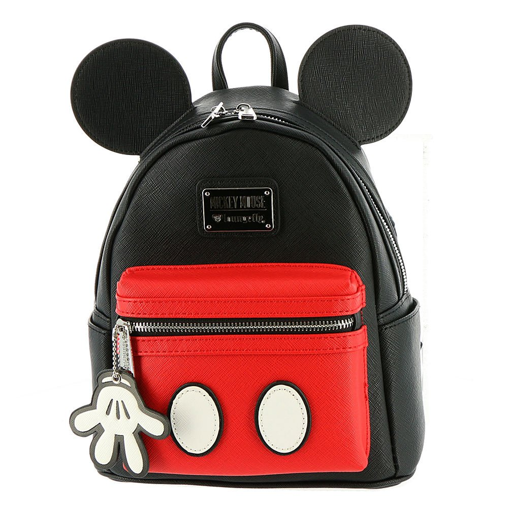 Loungefly Mickey Mouse Faux Leather Mini Backpack Standard