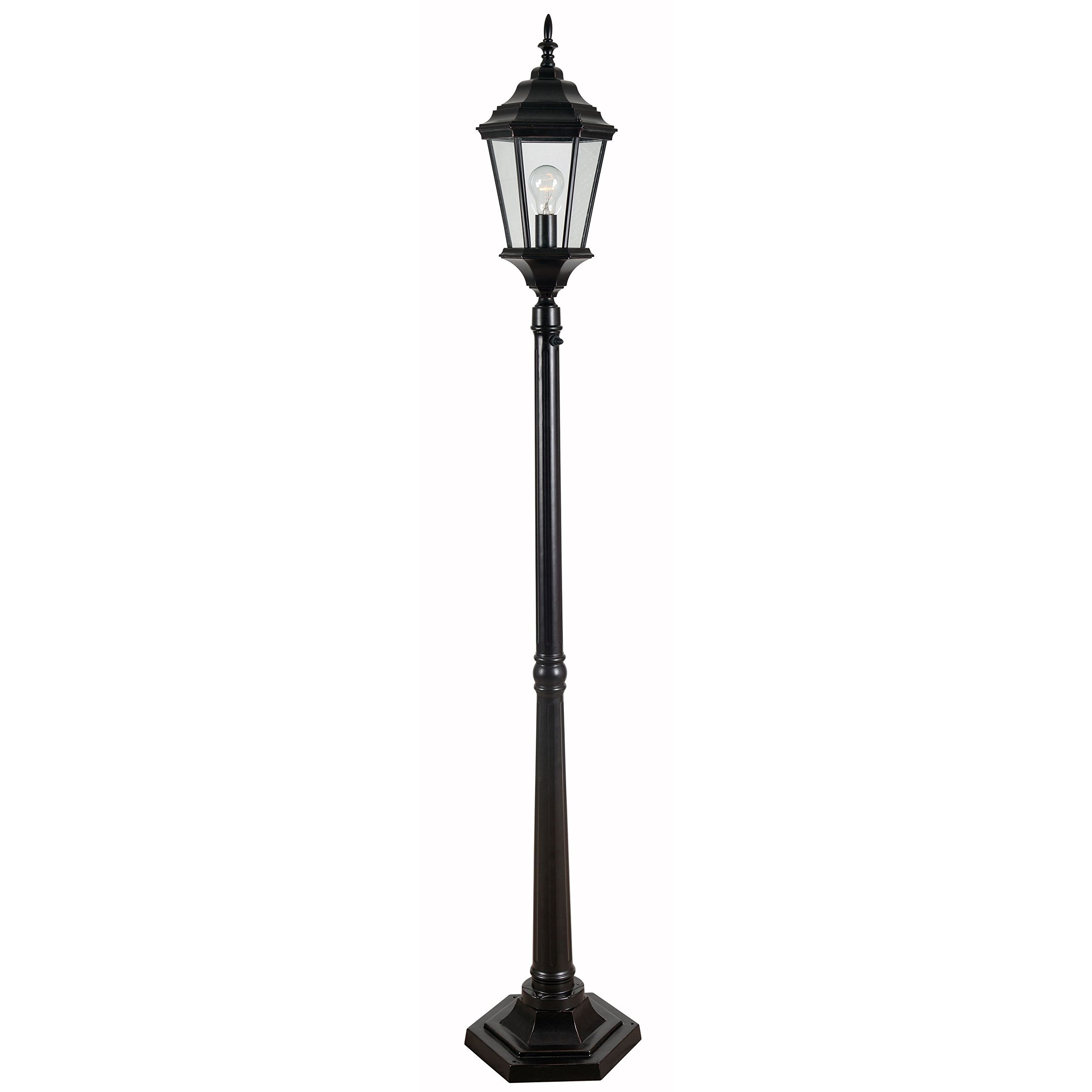 Design Craft Manor Portable Post Lantern