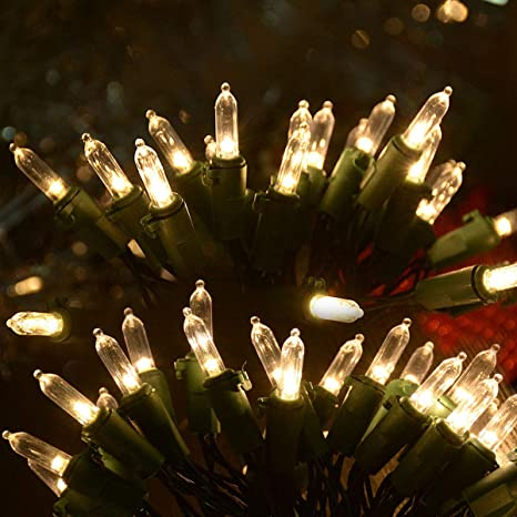 Battery Operated Wired Mini Tree Lights MINI CHRISTMAS TREE LIGHTS