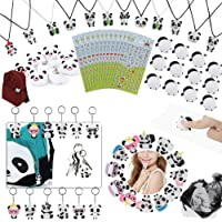 84 Pack Panda Party Supplies Favors, Panda Goodie bags Panda Squishy Toys Gift Bags for Kids Panda Bear Birthday Baby…