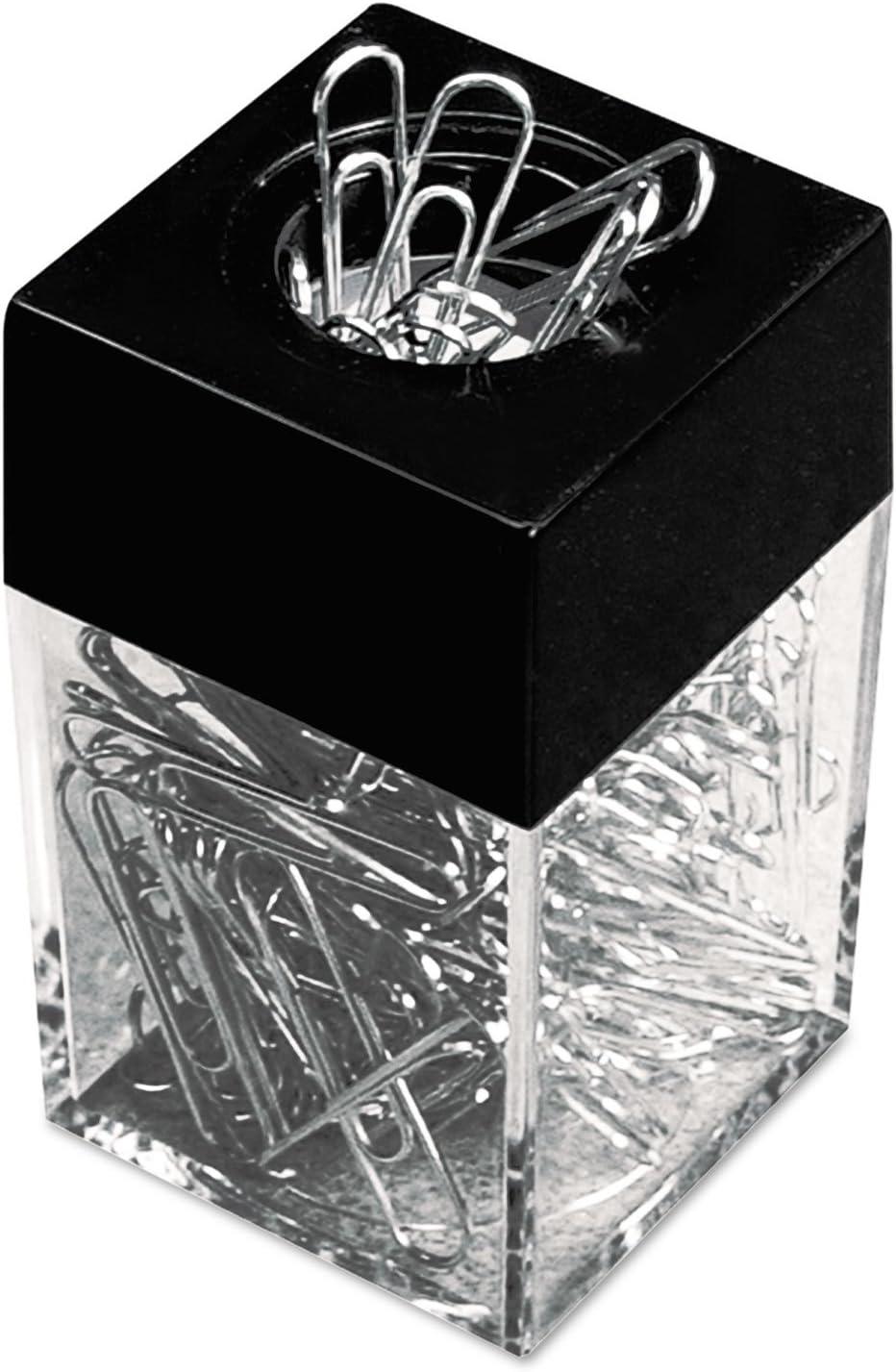 Universal – Dispensador de clips (W/magnética, alambre, 1 3/8, Plata, 12/100 cajas de cartón: Amazon.es: Oficina y papelería