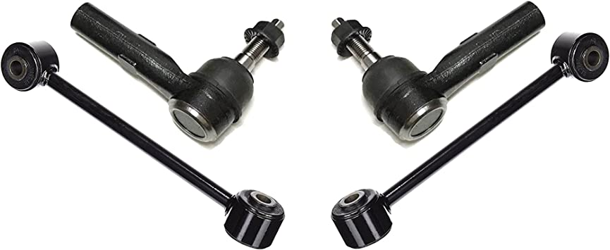 PartsW 2 Pcs Steering Kit Front Outer Tie Rod ends For Jeep Comander 2006-2010 /& Grand Cherokee 2005-2010