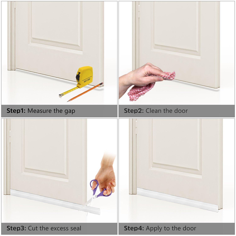 Amazon Door Draft Stopper Door Sweep For Exteriorinterior