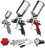 ATD Tools 6900 9-Piece HVLP Spray Gun Set