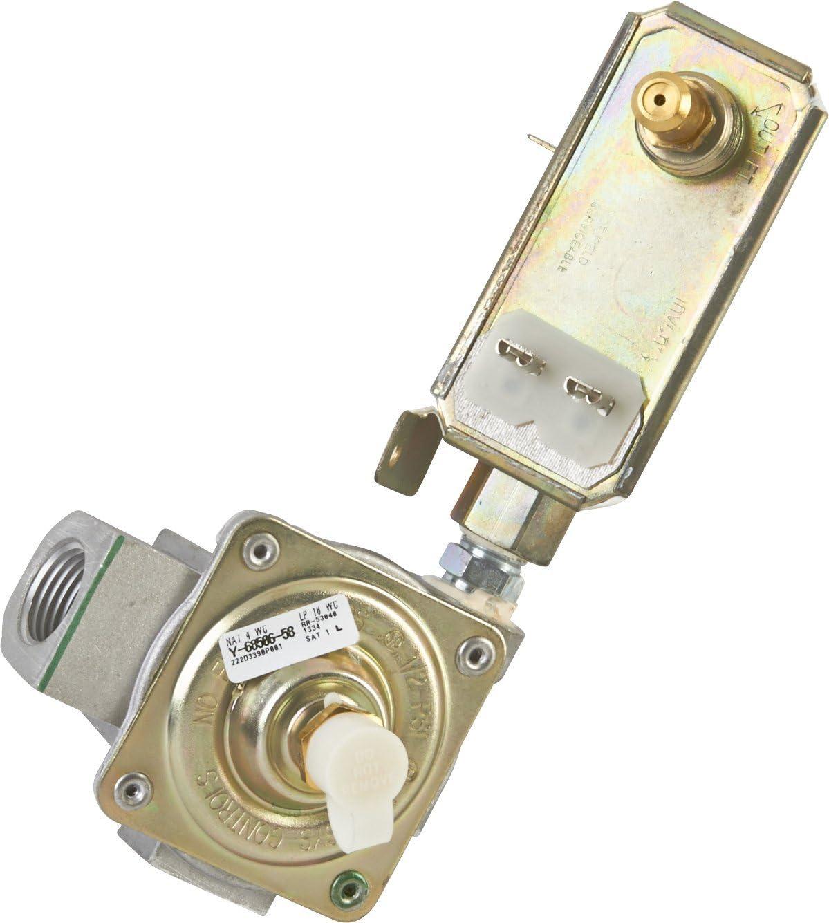 GE WB19K10044Oven Valve and Pressure Regulator