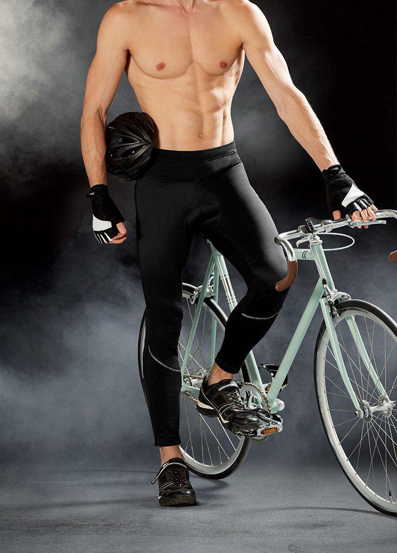 Crivit Herren Fahrradjumper Fahrrad Hose Coolmax Sitzpolster Radsport