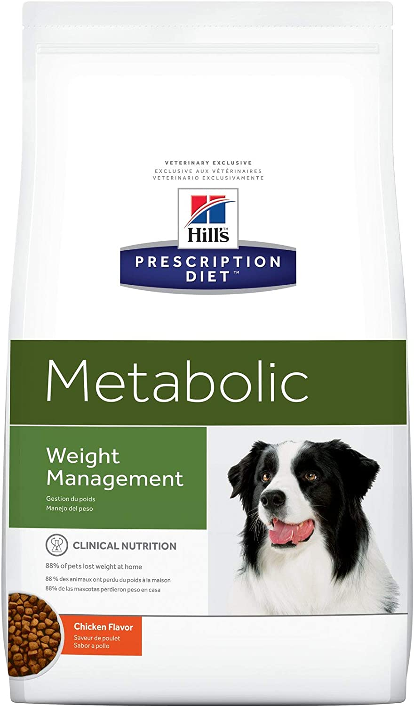 Hill`s Metabolic Weight Management - Alimento Dietético para Perros - 1 Paquete de 1500 gr