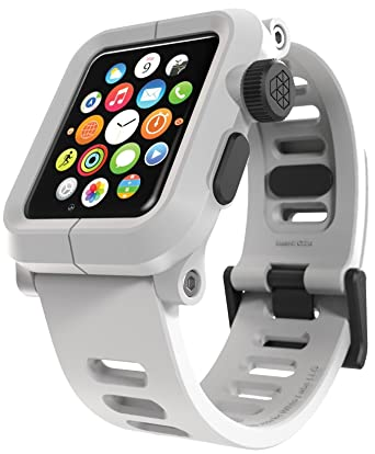 timeless design d1126 00a89 Lunatik EPIK Polycarbonate Apple Watch Case and Strap - White
