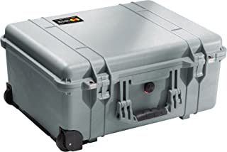 product image for Pelican 1560 Camera Case With Foam (Silver)