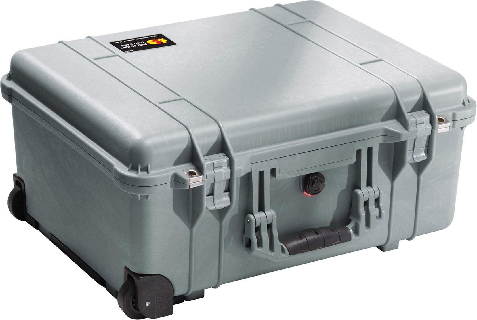 Pelican 1560 Camera Case With Foam (Silver)