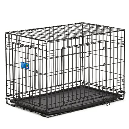 Amazon Top Paw Double Door Wire Dog Crate Size 30l X 19w X