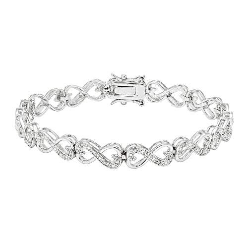 The 8 best diamond bracelets under 100