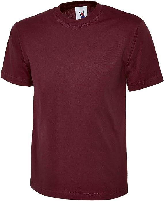 90f3faa6fb00 UC301 - Maroon - 4XL - 180 GSM Classic T-shirt: Amazon.co.uk: Clothing