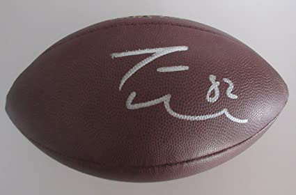 on sale f2924 5e3bb Jason Witten Signed Wilson NFL Football W/PROOF, Picture of ...