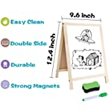 GINMIC Magnetic Letters and Numbers with Easel