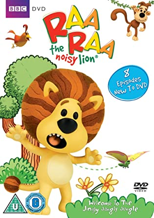 Raa Raa The Noisy Lion Welcome To The Jingly Jangly Jungle Dvd