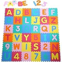 Yorbay Alfombra puzzle para Niños bebe infantil, esteras