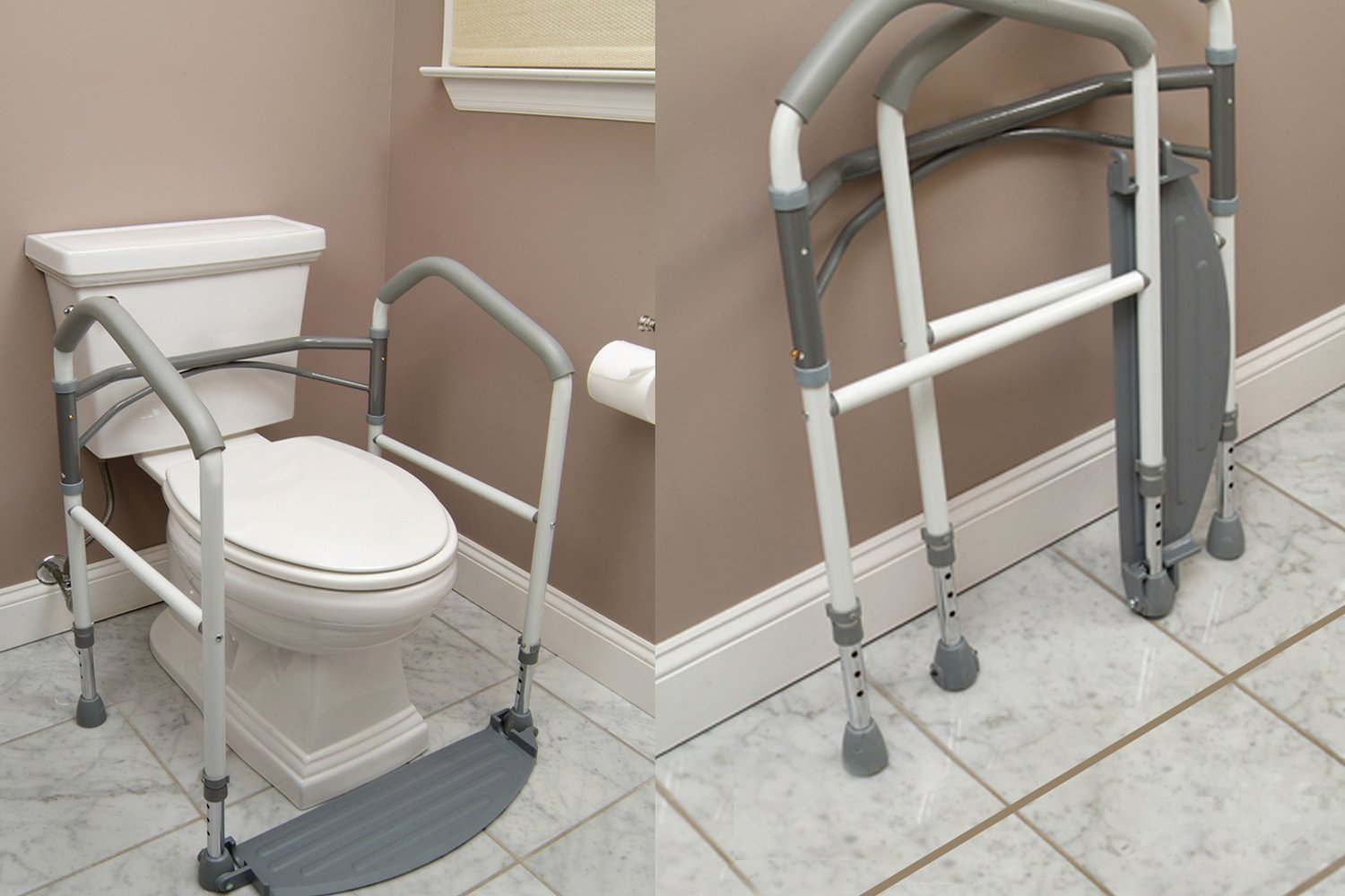 Amazon.com: Foldeasy Toilet Safety Frame: Health & Personal Care