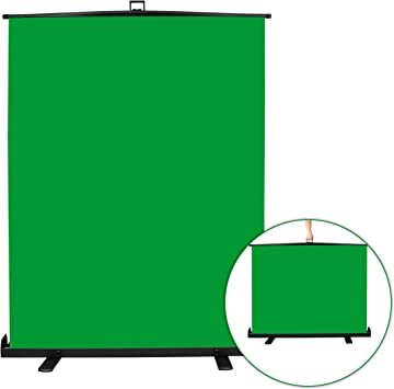 Amazon Com Emart Green Screen Collapsible Chromakey Panel For