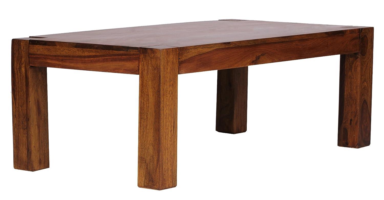Wohnling WL1.211 Coffee Table 110 x 60 cm Solid Sheesham Wood ...