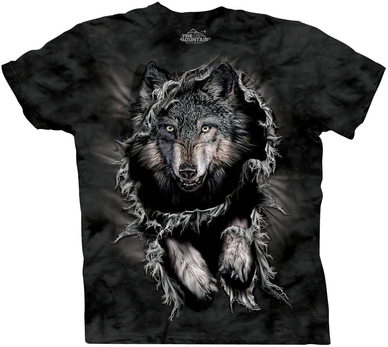 The Mountain Men's Breakthrough Wolf Short Sleeve Tee 10-1738