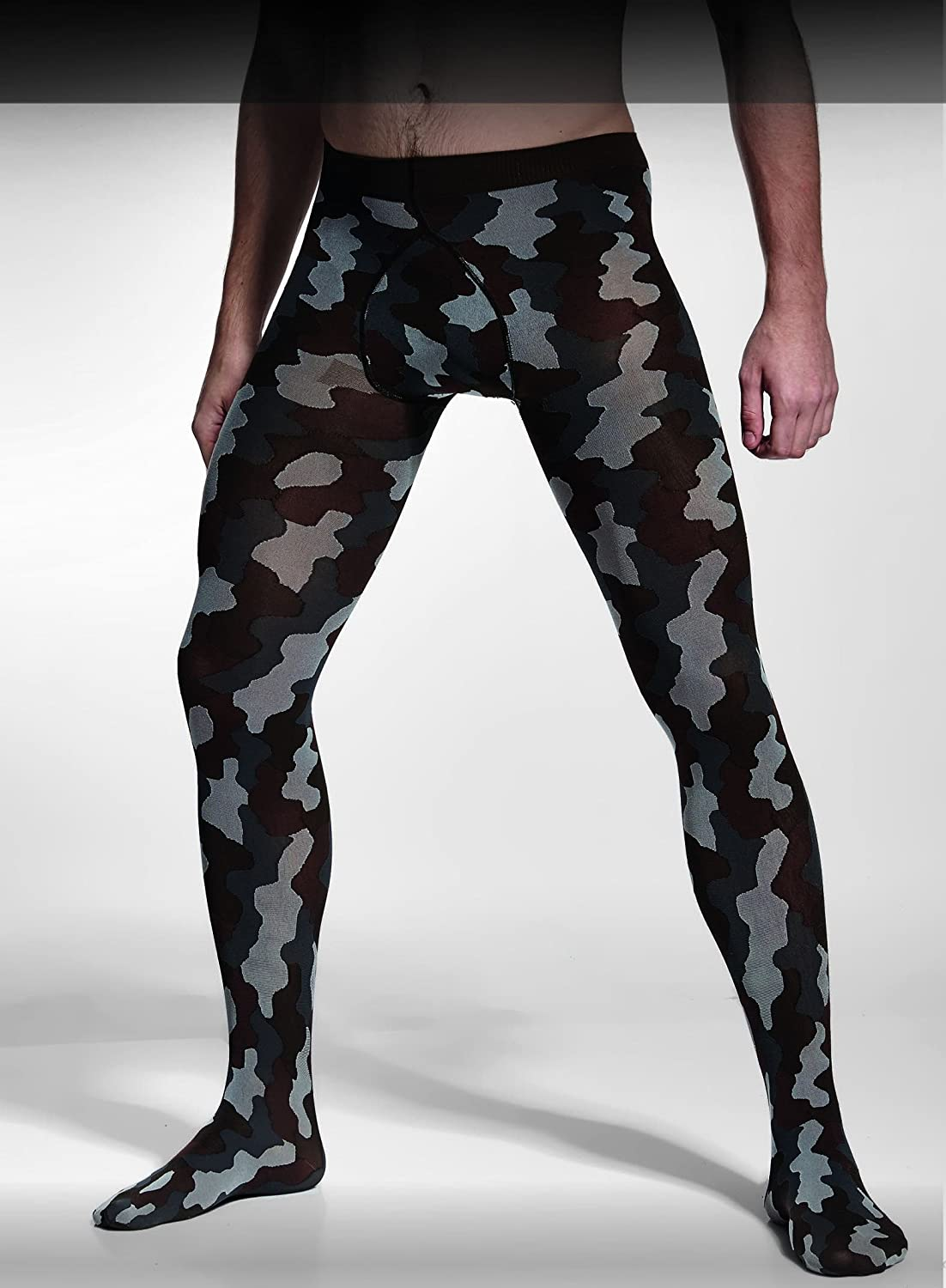 Adrian - Collant homme camouflage