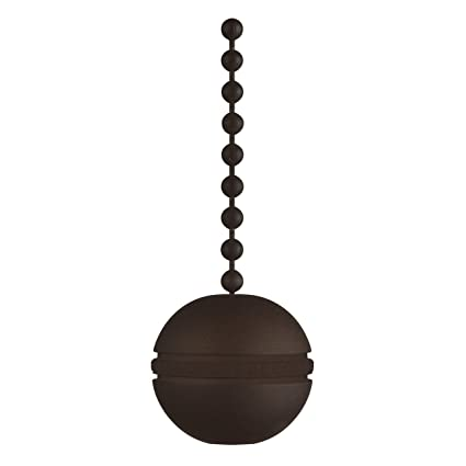 Decorative Chain Pulls Magnificent 60 Oil Rubbed Bronze Ball Pull Chain Lighting Products