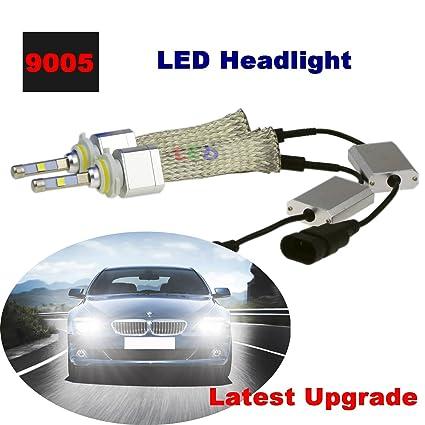 Amazon Com Sweon 2 80w 4800lm 9005 Cree Car Led Headlight Bulbs