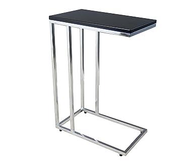 Aspect Bellini Sofa - Mesa Auxiliar para Ordenador portátil, Madera, Color Negro, 46 x 25,5 x 63,5 cm: Amazon.es: Hogar