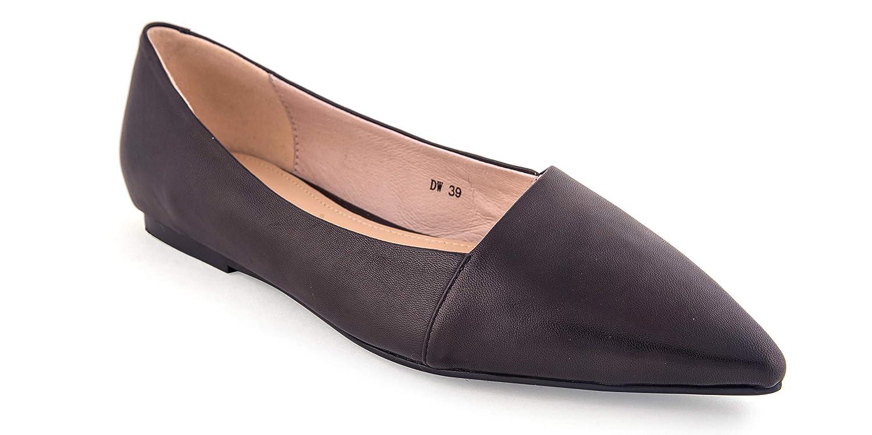 36e20a71c31 Vesta Footwear Ladies Ballet Pump Black  Amazon.co.uk  Shoes   Bags