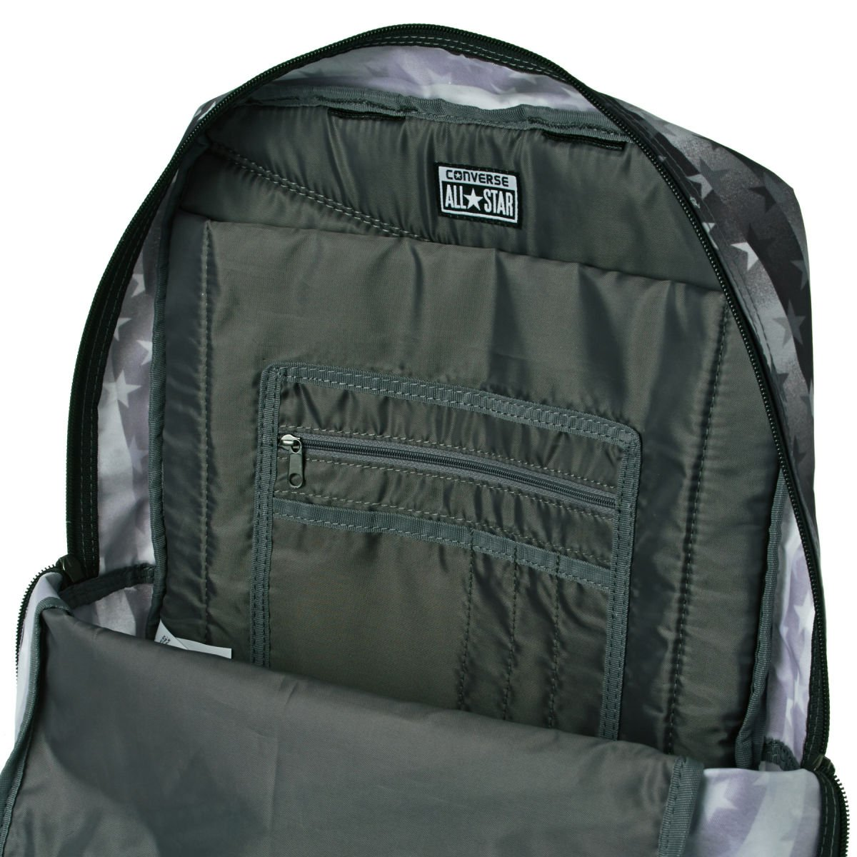 Converse Diagonal Zip Hombre Backpack Negro: Amazon.es: Ropa y accesorios