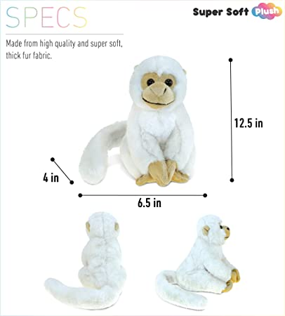 """31.5 /"""" Colour Long Tail Monkey Plush Huggable Deluxe Furry Critter Stuffed Toy"""