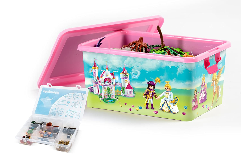 boite de rangement jouet boite rangement coffre jouets disney princesse cendrille minnie boite. Black Bedroom Furniture Sets. Home Design Ideas
