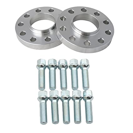 Amazoncom 2pc 20mm 5x112 Wheel Spacers 666mm Bore With 10pc