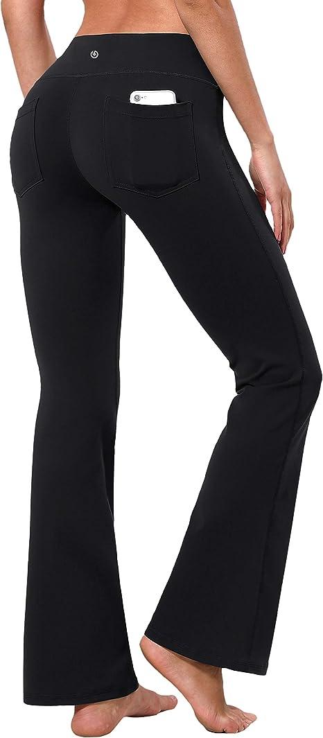 Amazon.com: BUBBLELIME - Pantalones de yoga para mujer con ...